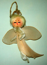 Antique GERMAN Christmas Tree Ornament Decoration Angel Tulle Chenille