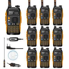 10×Baofeng/Pofung *GT-3 Mark II* + Cavo USB Ricetrasmittente Radio Walkie Talkie