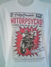 "MOTOR PSYCHO - RUSS MEYER 1965 MOVIE POSTER T SHIRT  - UP TO 48"" CHEST  XL ONLY"