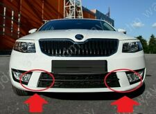 For Skoda Octavia A7 III RS Style Front Bumper Stubs Cover 2013-2017 Prefacelift