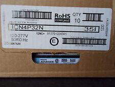 10 new ICN-4P32-N Advance BALLAST f 32 t8 bulbs 4 tube ballast NEW
