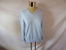 Women's LANDS' END Light Blue V-Neck Sweater - Sz S