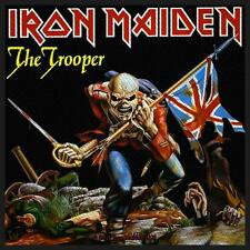 Iron Maiden - The Trooper Union Jack Patch Aufnäher Heavy Metal NWoBHM NEU