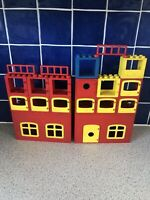 Retro Vintage 1979 LEGO Duplo House With Extra Window Bundle Interlego AG