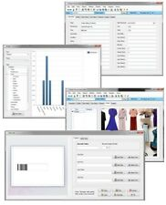 Windows 7 8 10 Designer Clothing Fashion Inventory Cost Value Tracking Software