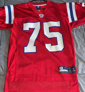 Vince Wilfork New England Patriots throwback reebok jersey size mens small rare!