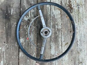 #2 STEERING WHEEL HORN RING Chevy Buick Oldsmobile Pontiac Impala Belair PARTS