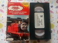 Thomas the Tank Engine James Learns a Lesson & Other Stories VHS Ringo Starr VCI