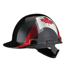 Dynamic Safety Hard Hat Helmet Canada Flag Casque de Construction