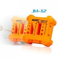 JAKEMY Magnetizer Demagnetizer Tool Porous Position Screwdriver Magnetic Degauss