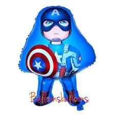 "Captain America Balloon 26"" Superhero Avengers Party Birthday Helium"
