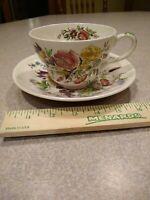 "JOHNSON BROS ""GARDEN BOUQUET"" large tea cup WINDSOR WARE. Beautiful"