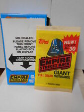 RARE 1980 Unopened Pack Topps Star Wars The Empire Strikes Back 5X7 Photo Card