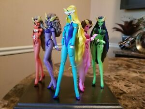 Sailor Moon Doom Bloom Girls UNPAINTED 1/8 resin kit set. Very RARE
