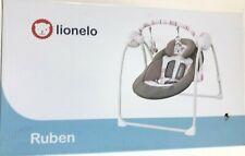 Lionelo Ruben Baby Wippe Babyschaukel Elektrisch mit Liegefunktion Baby Schaukel