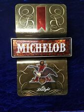 Michelob Lighted Sign Gold Tone Beer Sign Everbrite Anheuser Busch Inc No Cord