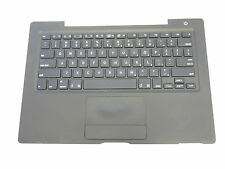 """Black Top Case US Keyboard Trackpad Touchpad for MacBook 13"""" A1181 2006 Mid 2007"""