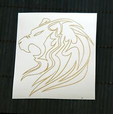 HOT SALE adesivo LEONE sticker SVENDITA decal vynil vinile king lion wall safari