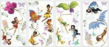 DISNEY FAIRIES Wall Stickers Tinkerbell Decor 30 Big Movie Fairy Room Decals