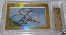 Jack Nicklaus Fred Couples 2013 Leaf Masterpiece Cut Signature card 1/1 PSA/DNA