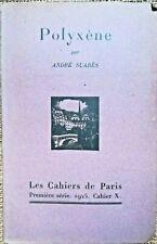 THEÂTRE: Polyxène, par André SUARES - 8320