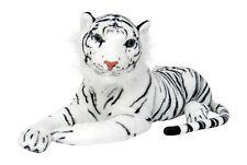 Wagner 2021 - Plüschtier Tiger 90 cm weiss Plüschtiger Stofftiger Plüsch riesig