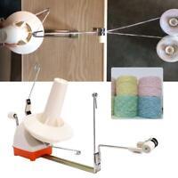 Hand Operated Yarn Winder Fiber Wool String Thread Ball Knitting Machine Kits