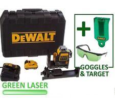 DEWALT DCE089D1G 3 VIE 10.8v 2.0Ah Li-ion Self livello multi linea laser verde