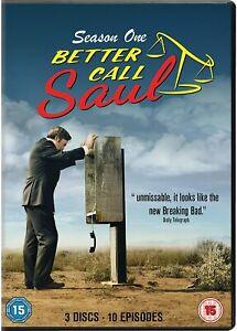 Better Call Saul - Season 1 [2015] (DVD) Bob Odenkirk, Jonathan Banks
