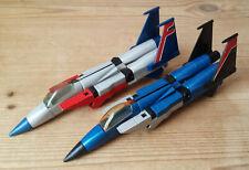 2 X Vintage - Takara 1983 - Jet / Robot G1 Transformers - Both Incomplete