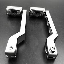Gear Shift Foot Lever pegs for Harley Softail Tour Electra Glide FLTS Chrom