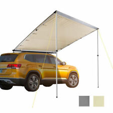 Car Tent Awning Rooftop SUV Truck Camping Travel Shelter Outdoor Sunshade Canopy