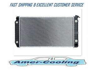 Radiator For Cadillac Deville Eldorado Fleetwood Seville Commercial Chassis 856