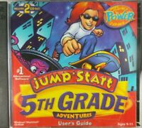 JUMP START Adventures 5th Grade Users' Guide PC Windows / Mac CD-Rom