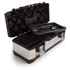 "Stanley STA195620 26"" Inch Galvanised Heavy Duty Metal Toolbox Tool Box 1-95-620"