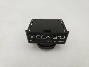 Metz SCA 310 Flash Adapter for Canon A-1 AE-1 Program F-1 AV-1 T90 Cameras