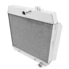 Champion 3 Row Aluminum Radiator For 1949-54 Chevy Cars Fits V8/V6 Engines Only