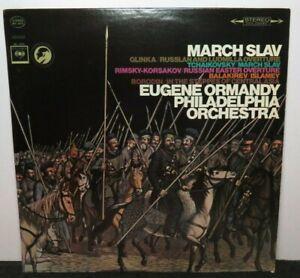 EUGENE ORMANDY MARCH SLAV (VG+) MS-6875 LP VINYL RECORD