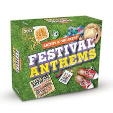 Festival Anthems 3-CD NEW SEALED Hawkwind/Rainbow/Madness/Reef/Squeeze/Sham 69+