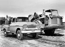 Chevrolet Apache 3600 Stepside 1958 Press  Photo  8 x 10 Photograph