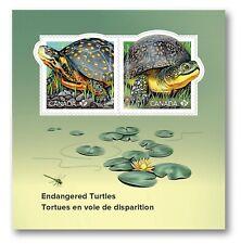 TURTLE = Souvenir Sheet of 2 Se-tenant stamps = MNH Canada 2019 #3179