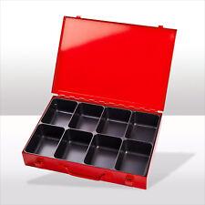 Sortimentskoffer Sortimentskasten Kleinteilemagazin Kleinteilebox Metall 204499