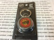 CHICAGO BLACKHAWK FLASHLIGHT KEY TAG NEW PLASTIC CASING NHL HOCKEY NEW W/TAB
