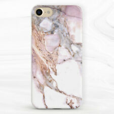 Rose Gold Marble White Aesthetic Case For iPhone 6S 7 8 Xs XR 11 Pro Plus SE