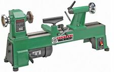 New 10 in. x 18 in. 5 Speed 1/2 HP Cast Iron Benchtop Wood Lathe DIY Hobby Tool