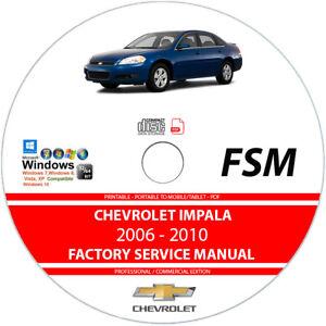 06 2006 Chevrolet Impala owners manual Car Manuals & Literature ...