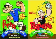 POPEYE THE SAILOR MAN REMASTERED CARTOONS MAX FLEISCHER COLLECTION NEW 2 DVD R4
