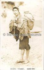 PERU CUZCO INDIGENA AGUADOR REAL PHOTO