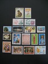 Wallis et Futuna  Stamps French Colonies  N° PA 125 à 130 + 132 à 143  neuf **