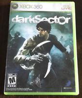 Xbox 360 Dark Sector Videogame No Manual